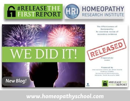 We did it- release the first report