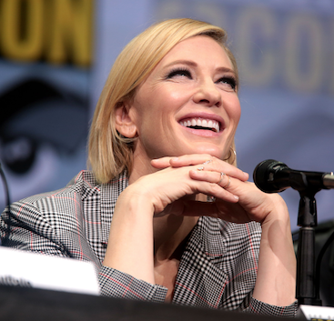 Cate Blanchett uses homeopathy
