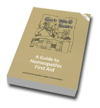 A Guide to Homeopathic First Aid, The School of Homeopathy