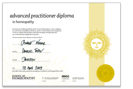 Higher Diploma Part 2 Course Certificate