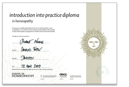 Introduction into Practice Course Certificate