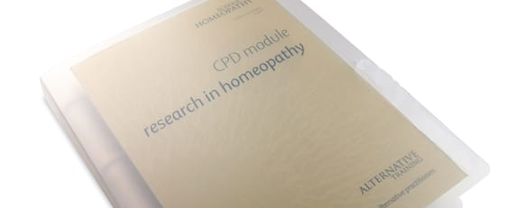 Homeopathy CPD Module Research