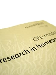 Homeopathy CPD Research Module